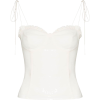 Reformation novena sweetheart corset top - Ärmellose shirts -