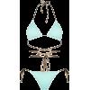 Reina Olga Miami tie detail bikini set - Swimsuit -