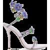 Rene Caovilla - floral cleo sandals - Sandals -