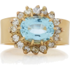 Renee Lewis 18K Gold, Aquamarine, And Di - Prstenje - $15.90  ~ 13.66€