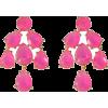 RentTheRunway Hot Pink Chandelier Earrin - Earrings - $15.00