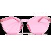 Retro Modern Rimless Sunnies-Pnk - Sunglasses - $19.00