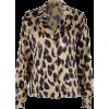 Retro Shirt Women's Leopard Print Long S - Košulje - duge - $25.99  ~ 165,10kn