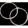 Retro Style Gold Endless Hoop Earrings - Earrings -