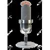 Retro radio microphone - Items -