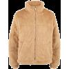 Ribbed Faux Fur Jacket - Jacket - coats -
