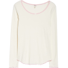 Ribbed Lounge Top HATLEY - Long sleeves t-shirts -