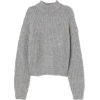 Ribbed Turtleneck Sweater - Puloverji -