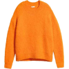 Ribbed jumper - Orange - Ladies | H&M GB - Pullovers -
