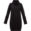 Ribbed-trim roll-neck sweater dress £462 - Dresses -