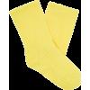 Ribbed velvet ankle socks - Altro -