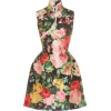 Richard Quinn Floral-Print Jersey Dress - ワンピース・ドレス -