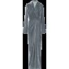 Rick Owens Velvet wrap gown - Vestiti -