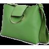 Ring Detail Shoulder Bag - Hand bag -