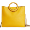 Ring Handle Tote Bag - Hand bag -