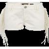 River Island Shorts White - Hlače - kratke -