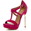 River Island Sandals Pink - Sandálias -