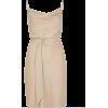 River Island Beige Cowl Dress - Dresses -