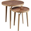 Rivet Mid-Century Nesting Side Table - Furniture -