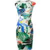 Roberto Cavalli tropical print dress - 连衣裙 -