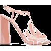 Rochas open toe sandals PINK - Sandals -