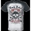 Rock Skull Shirt - T-shirts -
