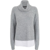 Roll Neck Jumper - Pullovers -