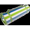 Rolled Striped Beach Mat - Uncategorized -