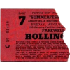 Rolling stones 1975 ticket - Items -
