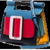 Romeo Leather Shoulder Bag - Hand bag -
