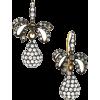 Rose Brinelli drop earrings - イヤリング -