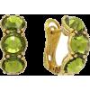 Rose Brinelli green earrings - Earrings -