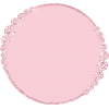 Rose Pink Diamond Round Frame - Ramy -