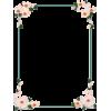 Rose Frame - Frames -