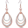Rose Gold Earrings - Ohrringe -