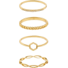 Rose Gold Ring Set - Rings -