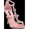 Rose Sandals - Sandale -