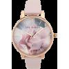 Rose gold pink watch - Uhren -