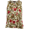 Rose print top, £29, Miss Selfridge - Tanks - £29.00  ~ $38.16