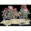Roses - Animals -