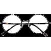Round Metal Glasses - Occhiali -