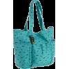 Roxy Juniors Speak Easy Tote Turquoise - Hand bag - $28.00