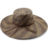 Roxy Juniors Swim In Straw Hat Brown/Blue - ハット - $34.00  ~ ¥3,827