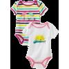 Roxy Kids Baby-Girls Newborn Dreamer Short Sleeve Bodysuit Assorted - Donje rublje - $30.78  ~ 26.44€