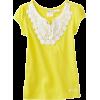Roxy Kids Girls 2-6x Spring Showers Tee Sunglow Yellow - T-shirts - $22.31