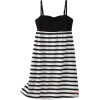 Roxy Kids Girls 7-16 Miss You Tank Dress Black/White Stripe - Dresses - $30.99
