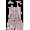 Roxy Kids Girls 7-16 Riptide Romper Rose Violet Stripe - Dresses - $35.99