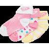 Roxy Swing Set Sock - 3-Pack - Infants'/Toddlers' Assorted - Donje rublje - $9.90  ~ 8.50€