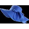 Royal Blue Women Wide Brim Bowkno - Šeširi -