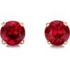 Ruby Earrings, Red Earrings, Ruby, Red,  - Brincos - $858.00  ~ 736.92€